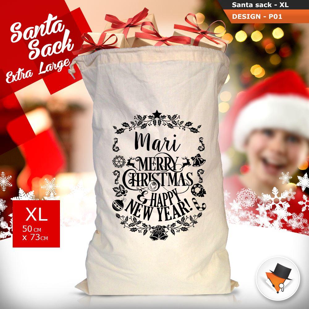 Weihnachtsgeschenke Sack.Details Zu Riesig Vintage Weihnachten Weihnachtsmann Sack Socken Jute Weihnachtsgeschenk