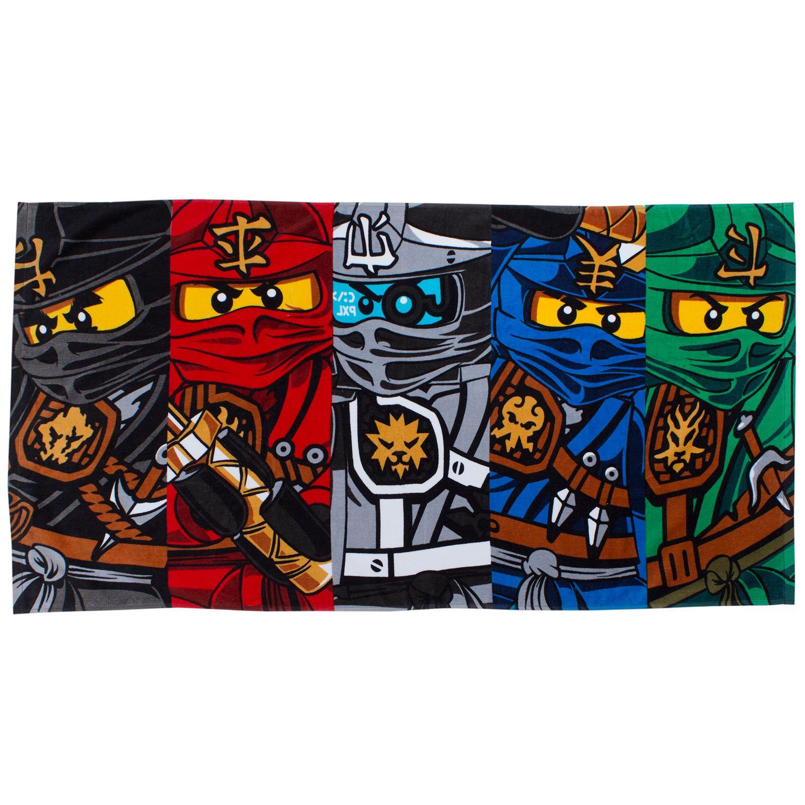 LEGO-Toallas-amp-ponchos-infantil-algodon-toalla-playa-Star-Wars-DC-Comics-NINJAGO
