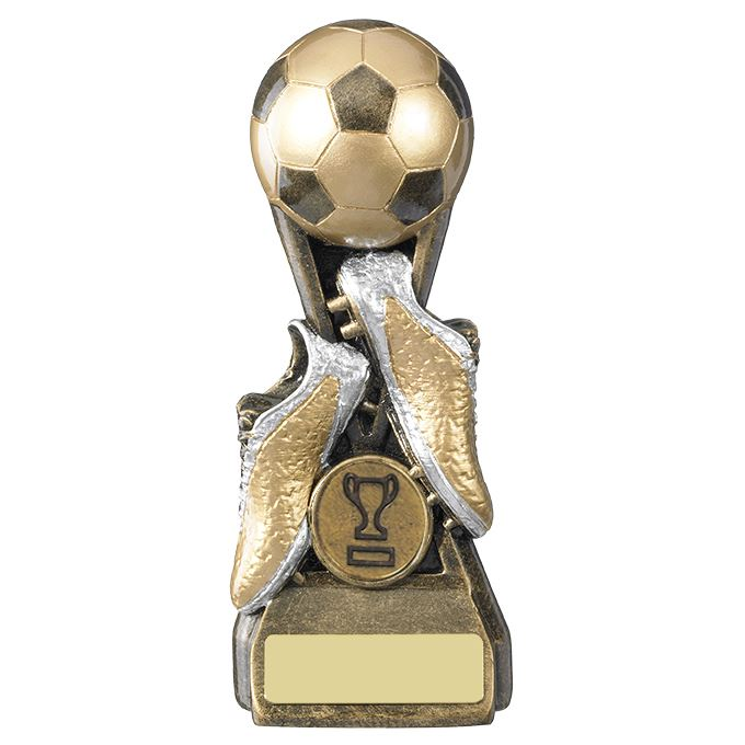 FOOTBALL-Trophees-FOOTBALL-bottes-amp-Ball-trophee-prix-gratuite-gravure