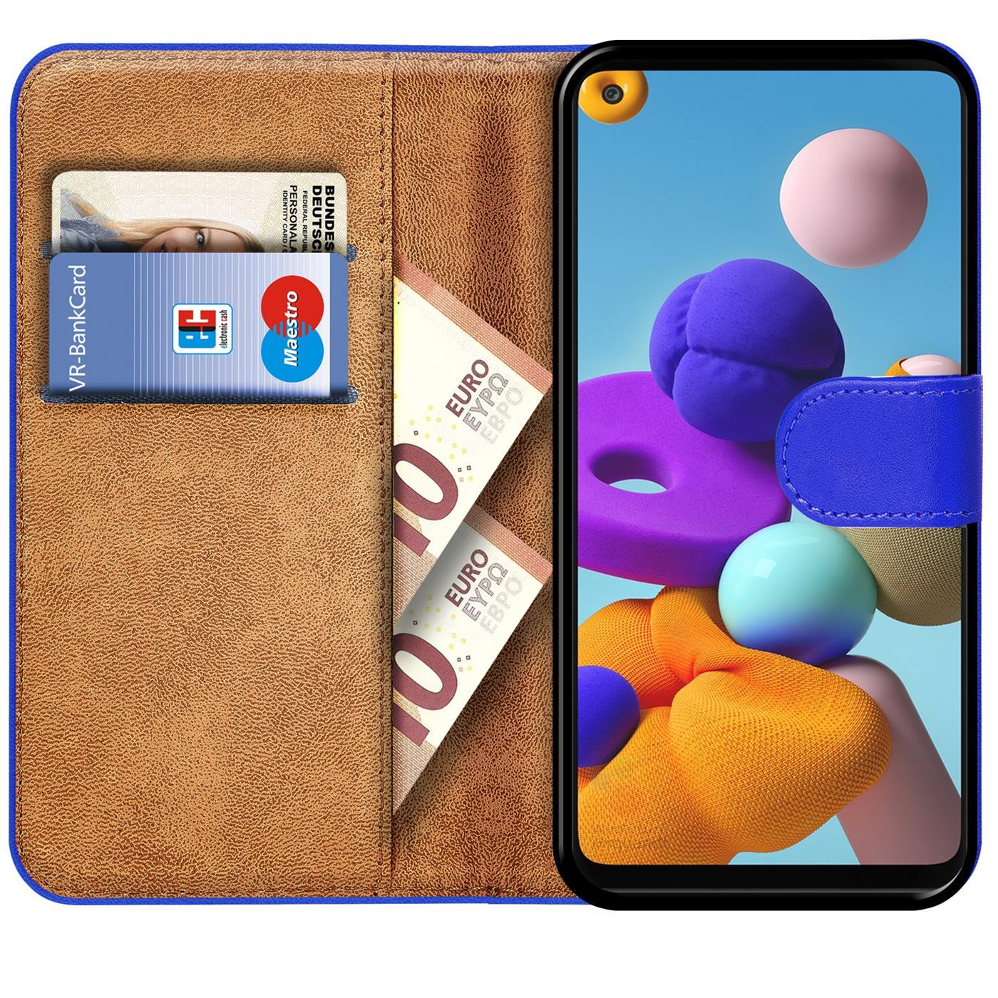 Livre-Etui-pour-Samsung-Galaxy-A21s-Housse-Clapet-Telephone-Portable-Etui-Coque miniature 9