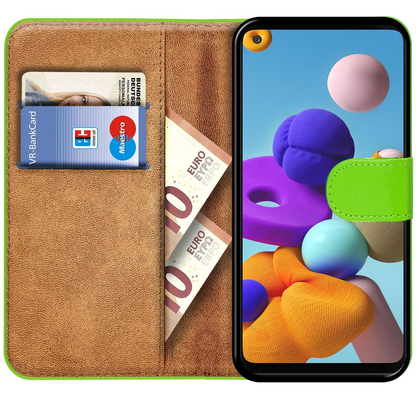 Livre-Etui-pour-Samsung-Galaxy-A21s-Housse-Clapet-Telephone-Portable-Etui-Coque miniature 12