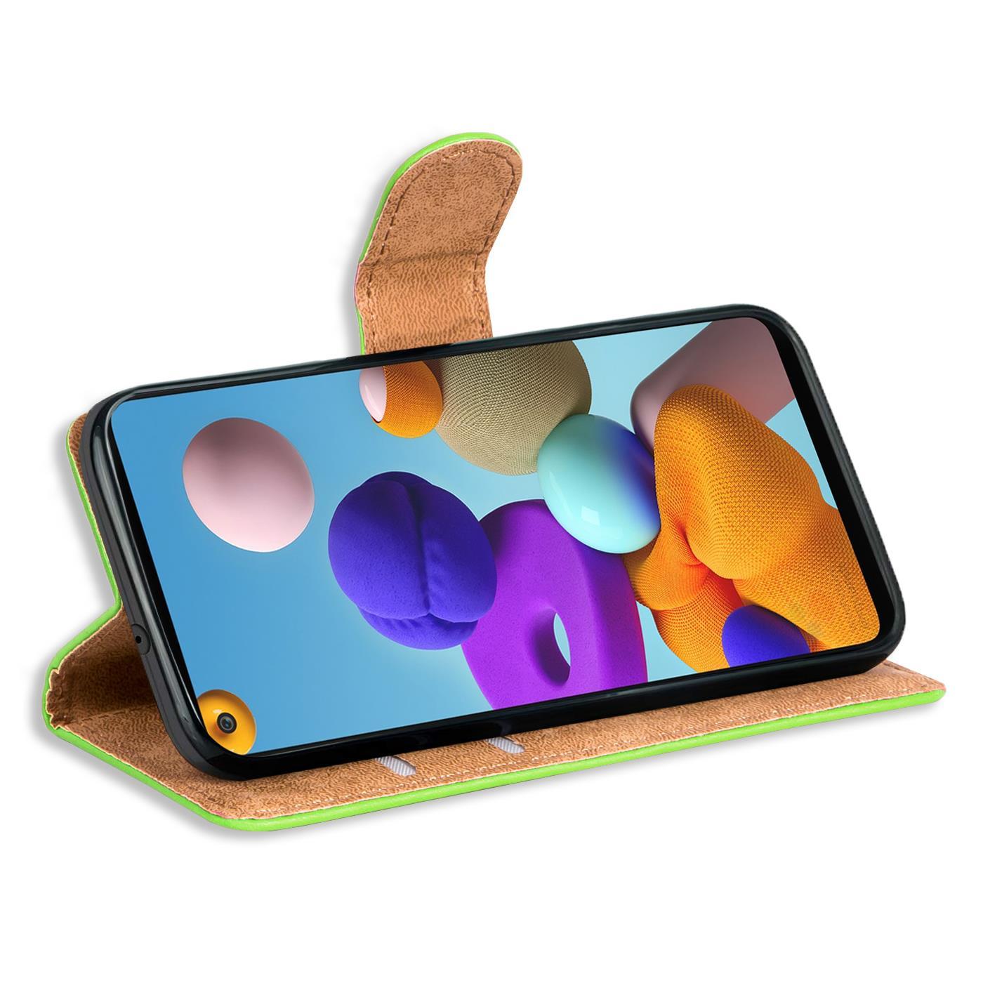Livre-Etui-pour-Samsung-Galaxy-A21s-Housse-Clapet-Telephone-Portable-Etui-Coque miniature 13