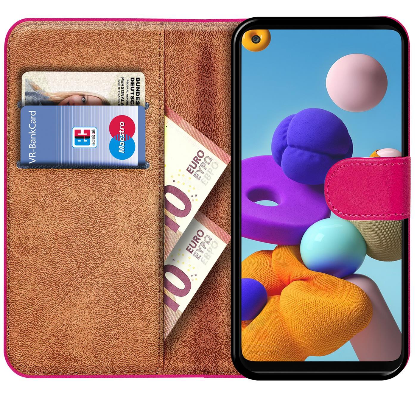 Livre-Etui-pour-Samsung-Galaxy-A21s-Housse-Clapet-Telephone-Portable-Etui-Coque miniature 15