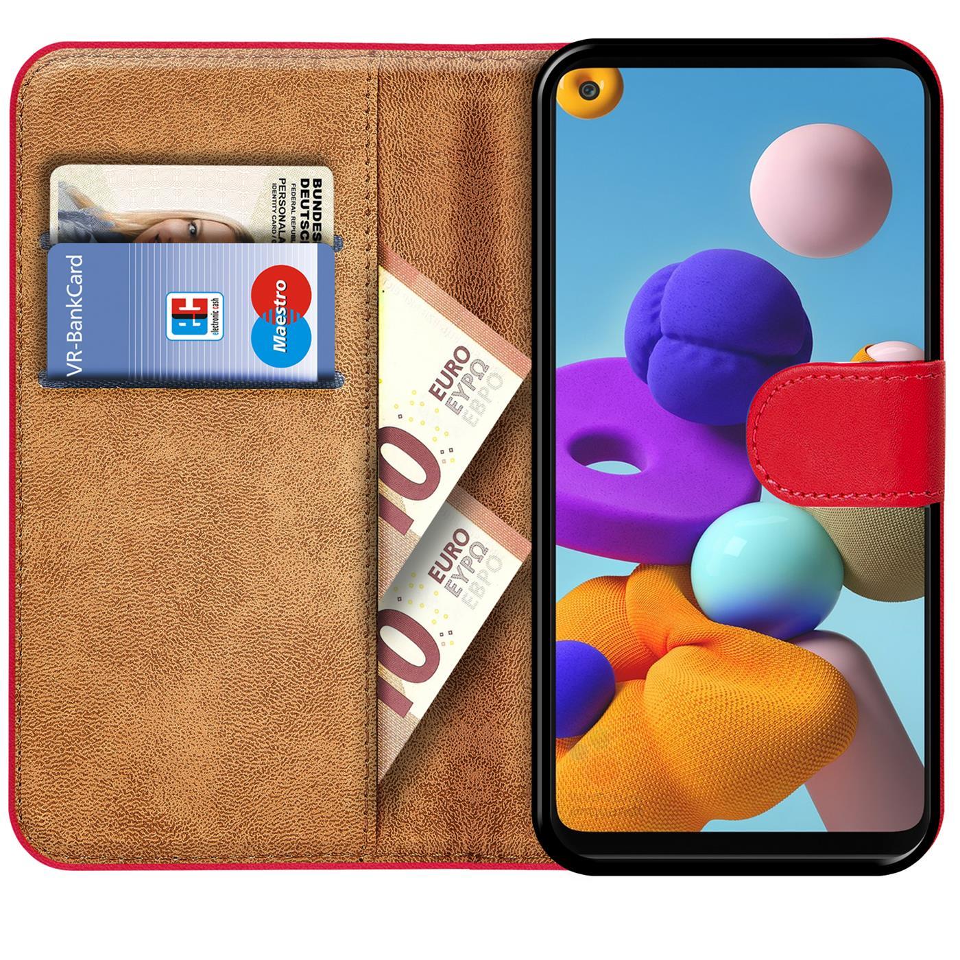 Livre-Etui-pour-Samsung-Galaxy-A21s-Housse-Clapet-Telephone-Portable-Etui-Coque miniature 21