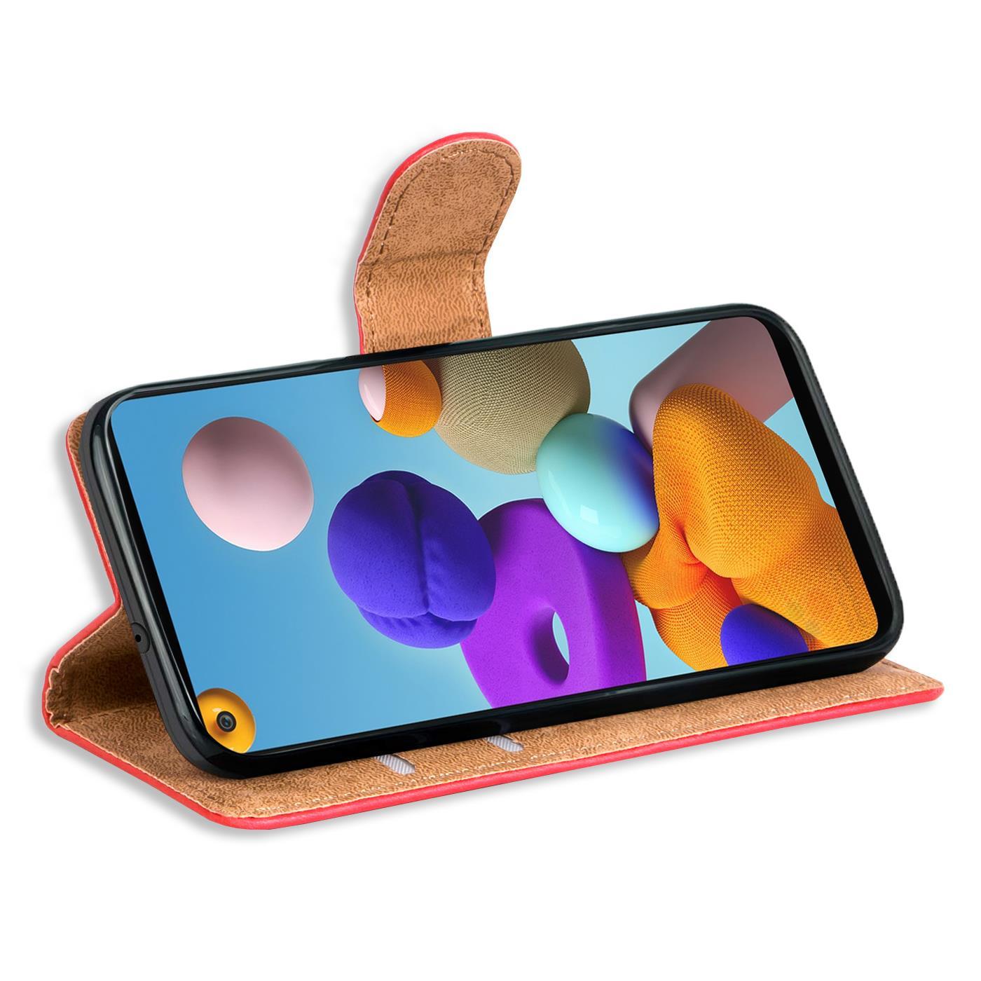Livre-Etui-pour-Samsung-Galaxy-A21s-Housse-Clapet-Telephone-Portable-Etui-Coque miniature 22