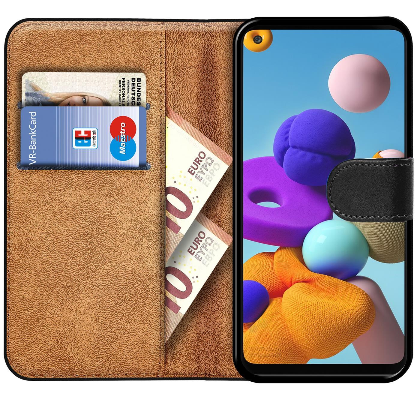 Livre-Etui-pour-Samsung-Galaxy-A21s-Housse-Clapet-Telephone-Portable-Etui-Coque miniature 18