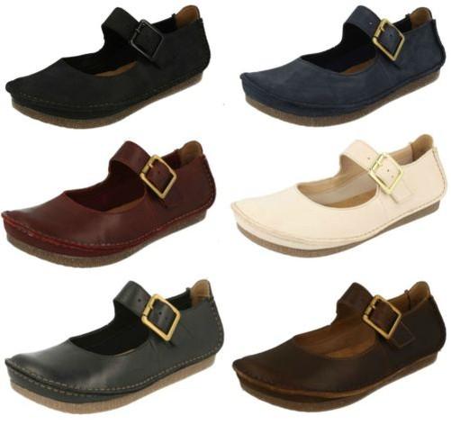 Cómodo y bien parecido Descuento por tiempo limitado Mujer Clarks Elegante/Informal Con Hebilla Zapatos Planos Janey June