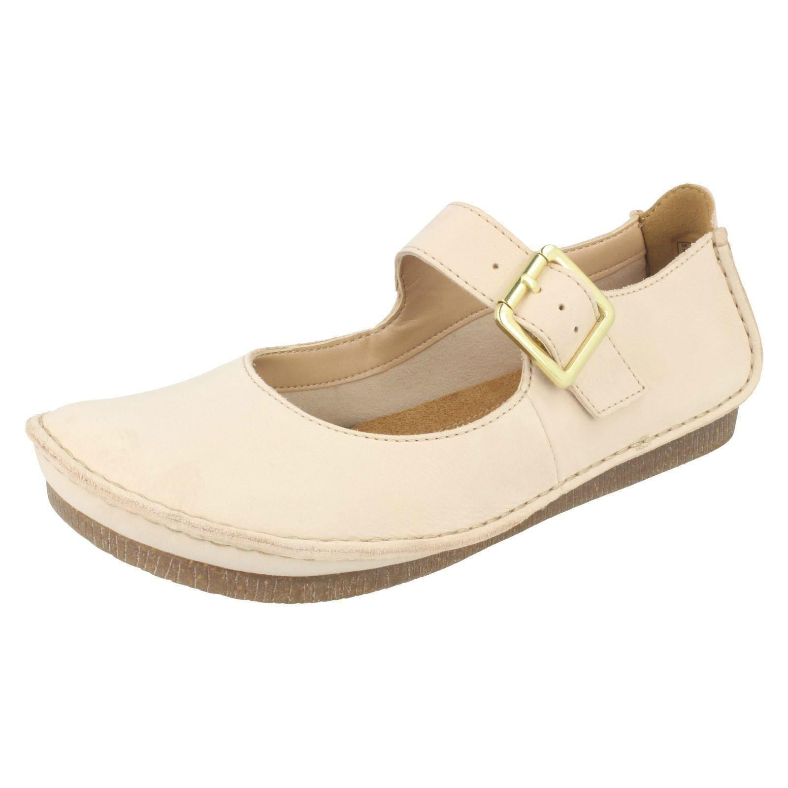 Clarks Women S Flat Shoes With Buckle