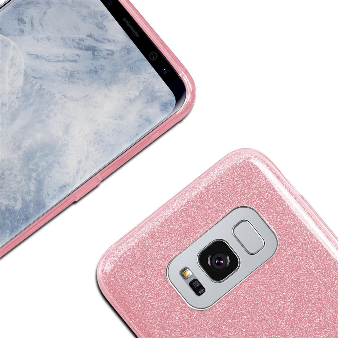 Phone-Glitter-Case-for-Samsung-Galaxy-Slim-TPU-Cover-Silicone-Protective thumbnail 13