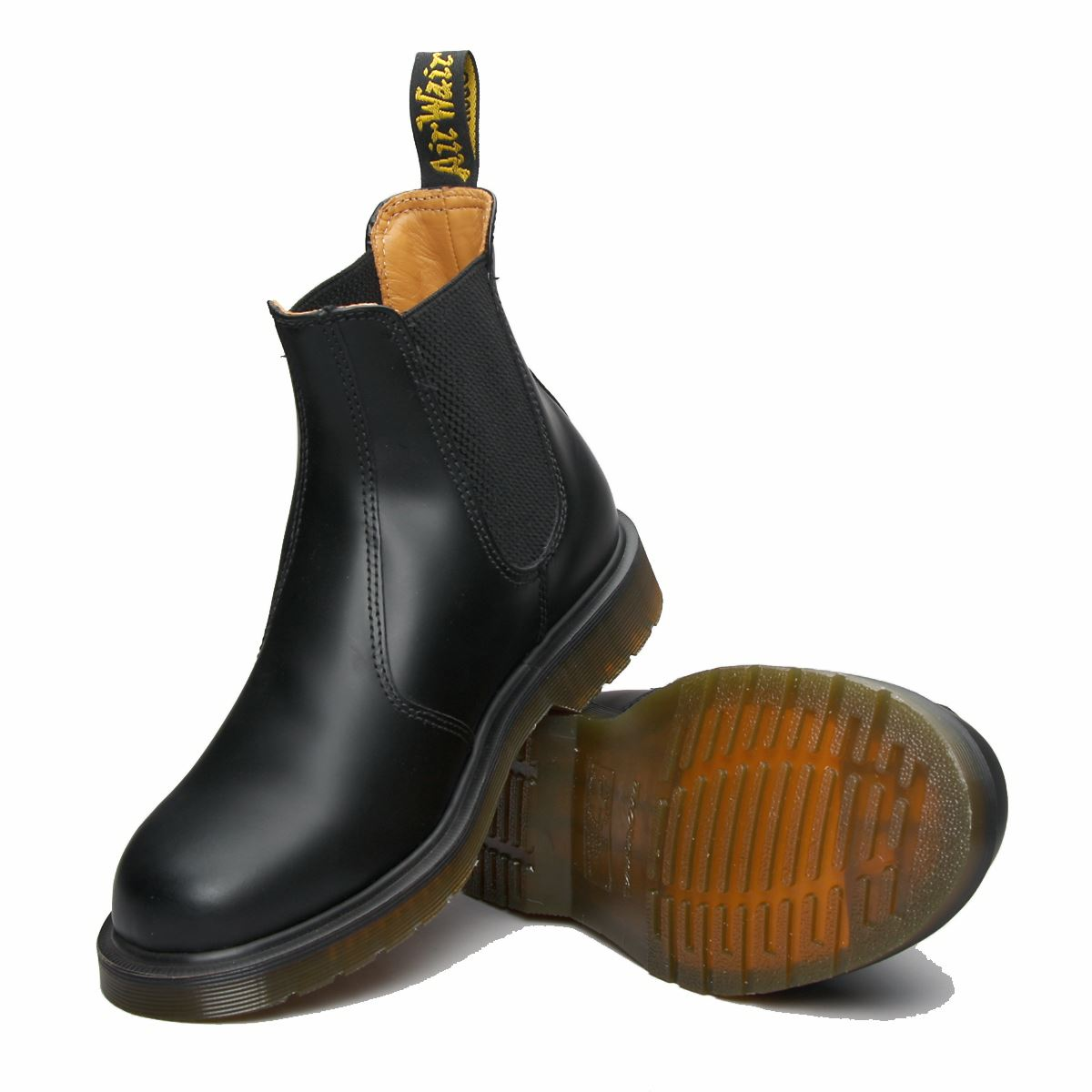 UK 6-uk 15 Dr Martens Chelsea Dealer BOOTS Black Leather Mens DOCS ...