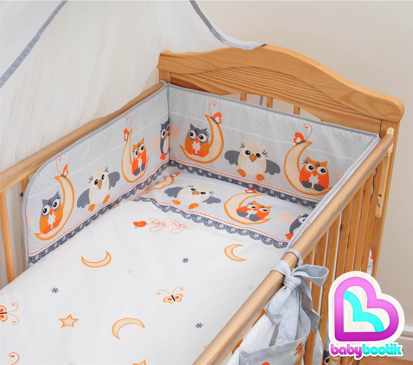 5 piece baby kinderzimmer kinderbett bettw sche set bettbezug nestchen kissen - Baby kinderzimmer set ...