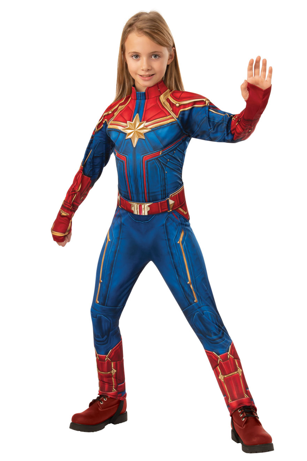 Rubies Kids Official Deluxe Captain Marvel Kree Or Hero 3d Fancy Dress Costume Ebay The captain marvel kree suit looks like it came right out of the screen so get ready to bring marvel's newest creation to life from the silver screen to in person this halloween! ebay