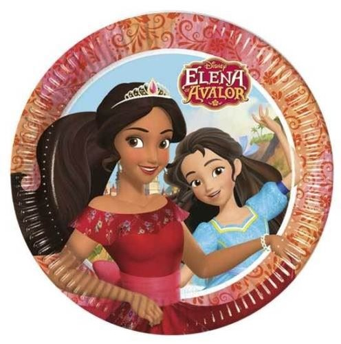 princesse disney elena de avalor vaisselle de f te anniversaire enfants ebay. Black Bedroom Furniture Sets. Home Design Ideas