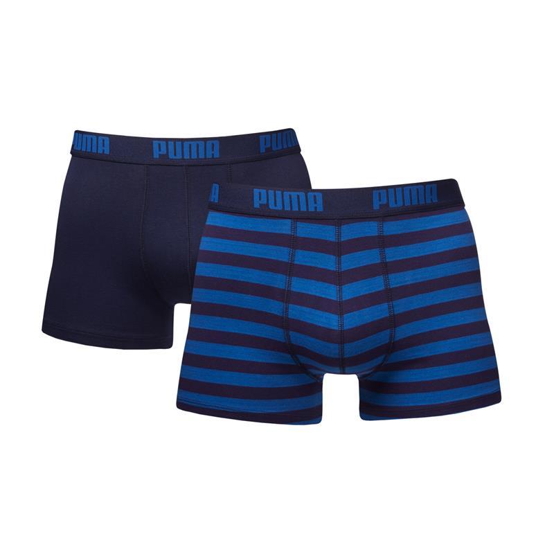 Puma-Boxer-Corto-Boxer-2-4-6-8-10-Pacco-Posto-Logo-Strisce-1515-Nuovo