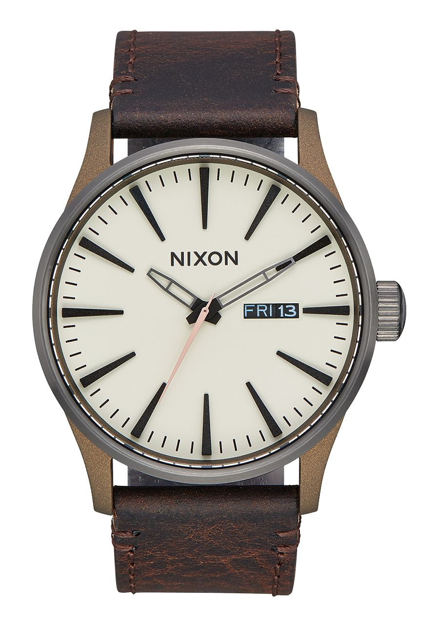 Nixon-Sentry-Leather-primavera-2017-Bronzo-Gunmetal