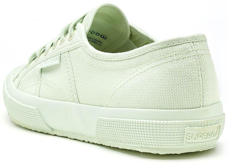 Superga-2750-Cotu-Classic-Tela-Scarpe-in-Bianco-Talpa-Nero-Grigio-Blu-e-Verde miniatura 52