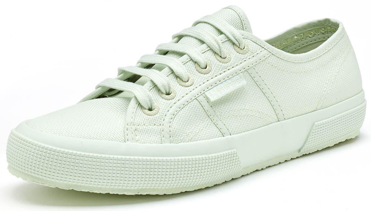 Superga-2750-Cotu-Classic-Tela-Scarpe-in-Bianco-Talpa-Nero-Grigio-Blu-e-Verde miniatura 51