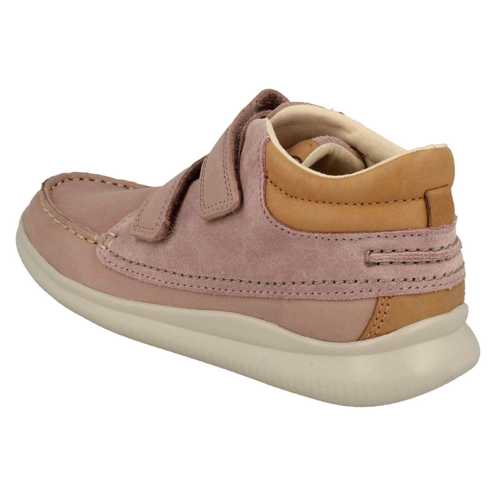 Girls Clarks Crest Tuktu Casual Ankle Boots
