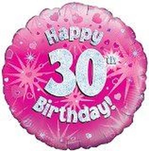 Rose ge 30 ans joyeux 30 me d coration f te d 39 anniversaire femme c l bration ebay - Decoration anniversaire 30 ans femme ...