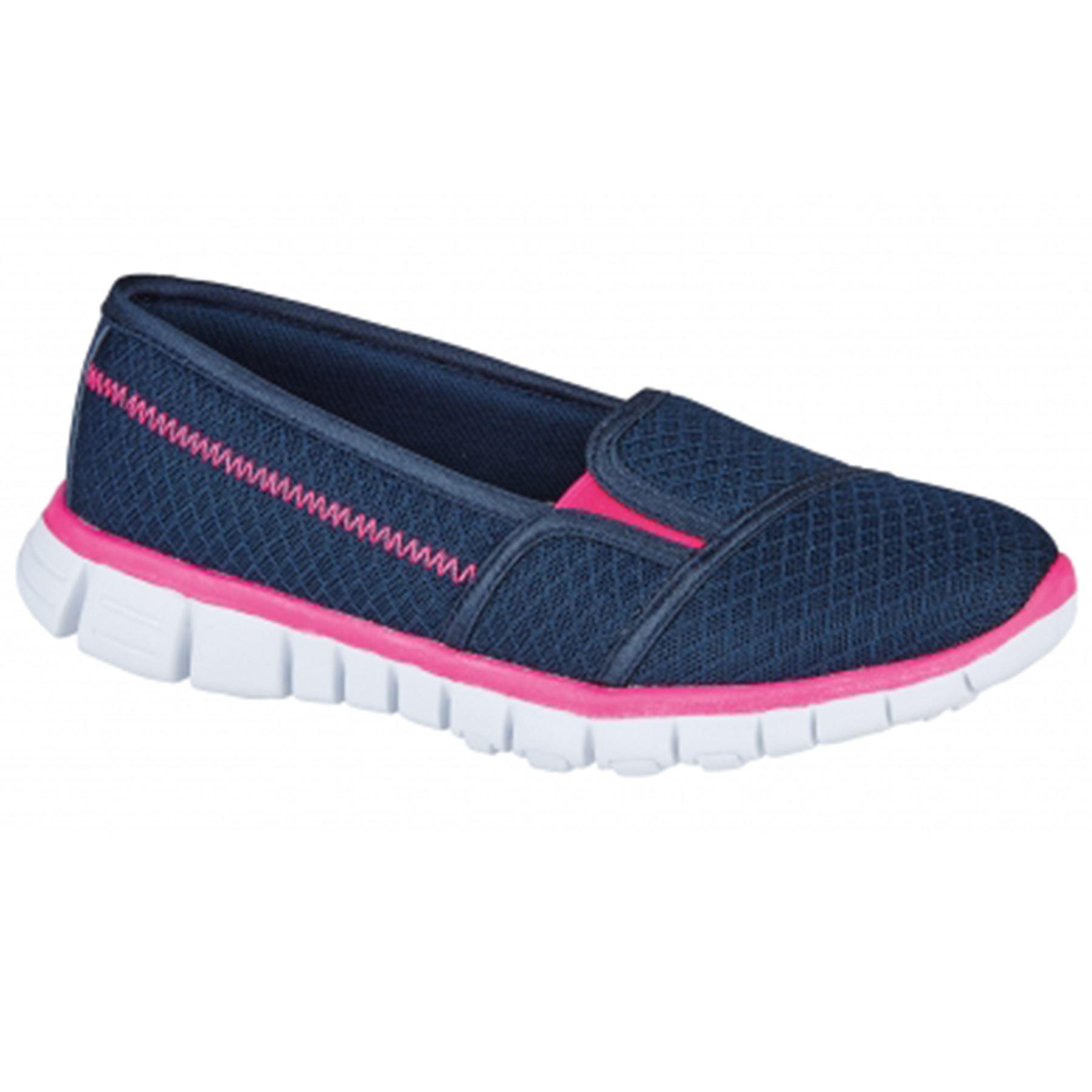 Pulse Mujer Ligero Sin Cordones Caminar transpirable Cómodo Zapatillas
