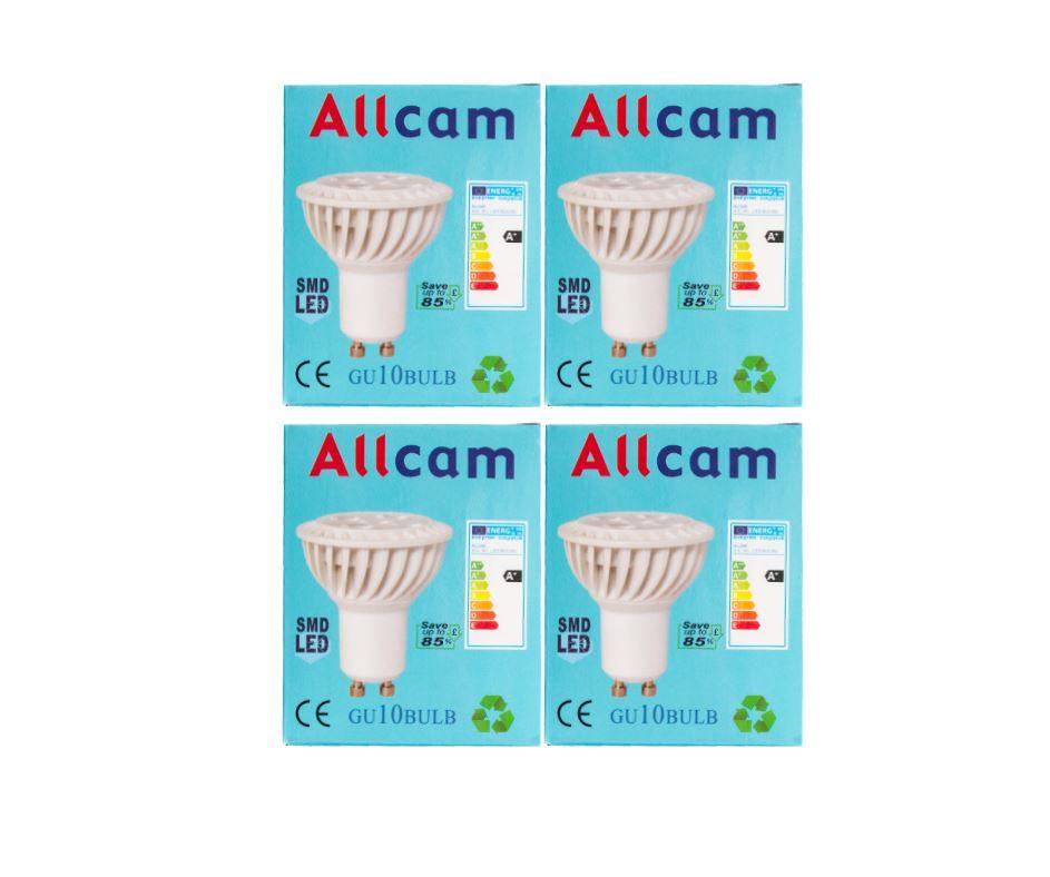 4-6-10x-5W-7W-Allcam-GU10-LED-Regolabile-Lampadine-Bianco-Caldo-3000K