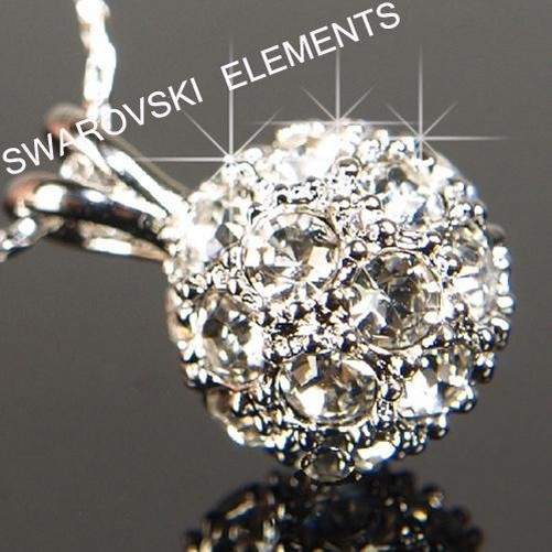 OFERTA-18-CT-Oro-Rosa-Blanco-Relleno-pendientes-con-Swarovski-Cristal-E402G