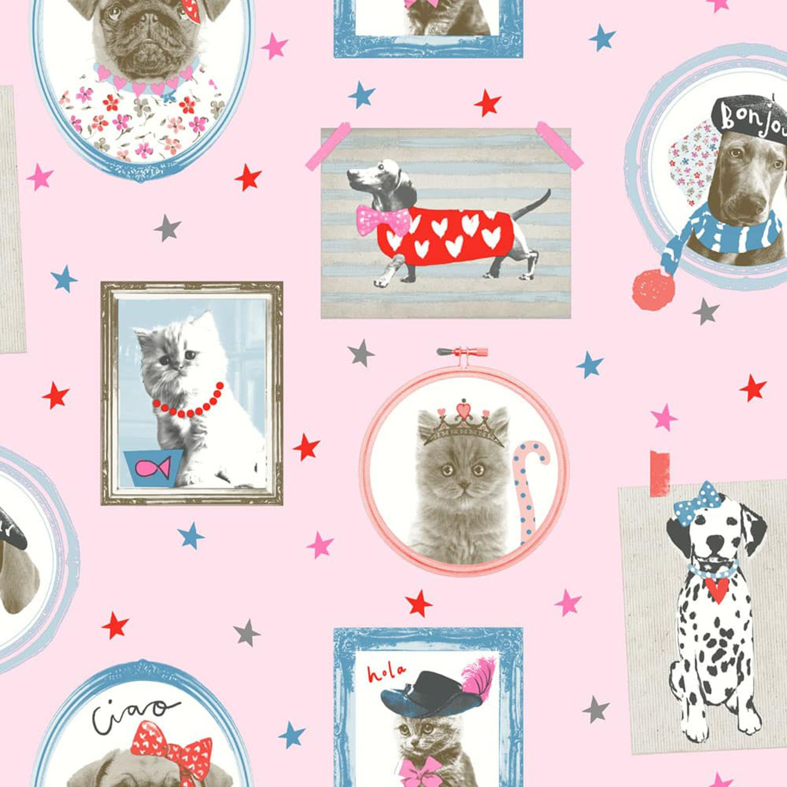 dog themed wallpaper animal love pug, puppy + various designs