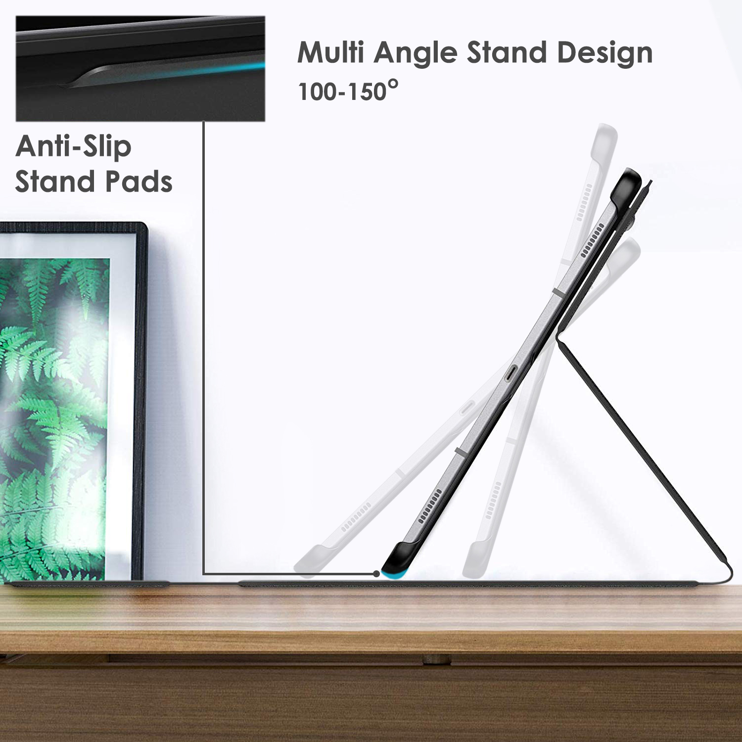 Samsung-Galaxy-Tab-S6-10-5-Case-Cover-Stand-with-Document-Pocket-Stylus thumbnail 4