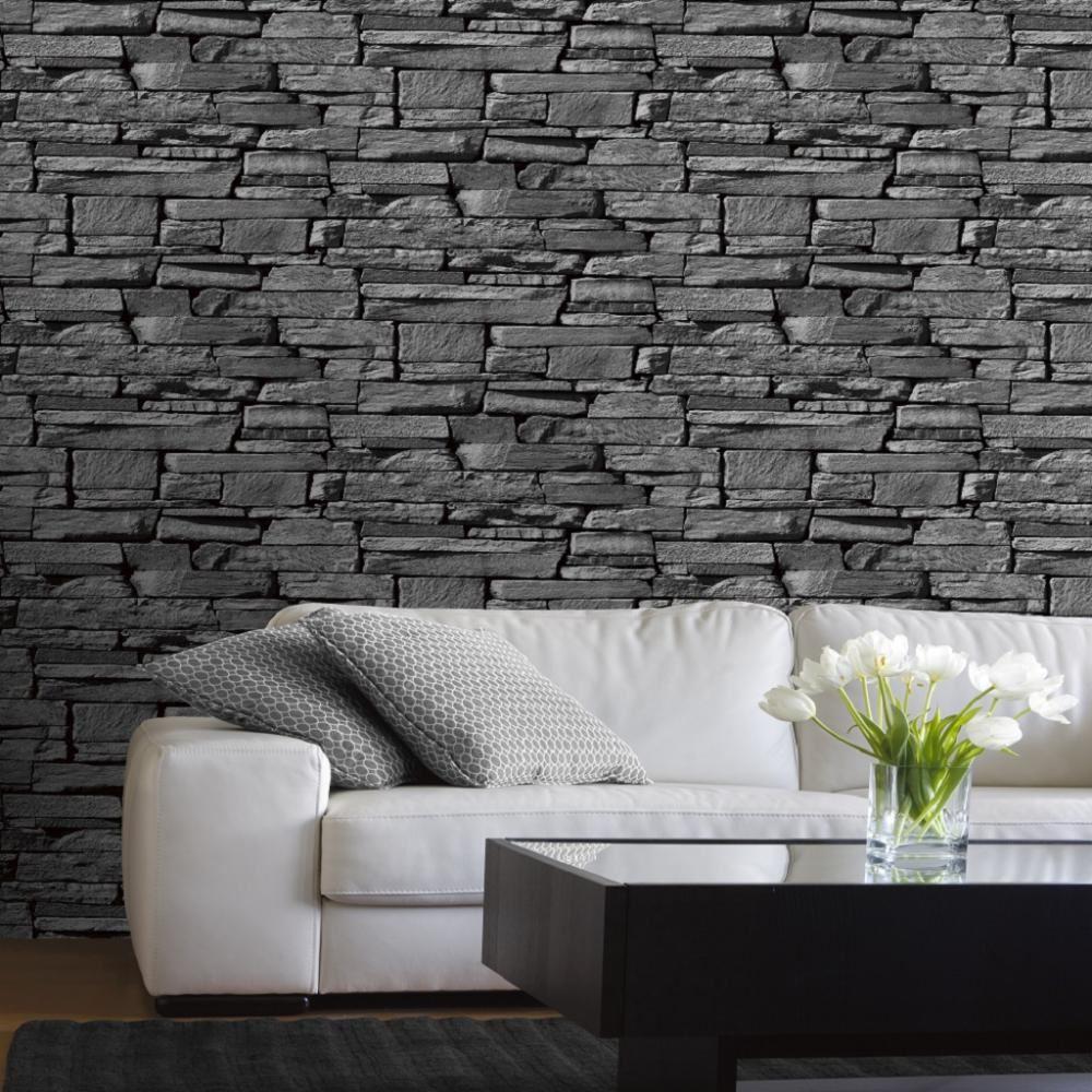 neuf effet brique faux r aliste mur de pierre motif photo. Black Bedroom Furniture Sets. Home Design Ideas