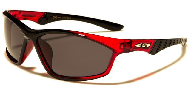 NEU X-Loop Sonnenbrillen polarisiert schwarz Damen Herren Jungen gewickelt o22KK