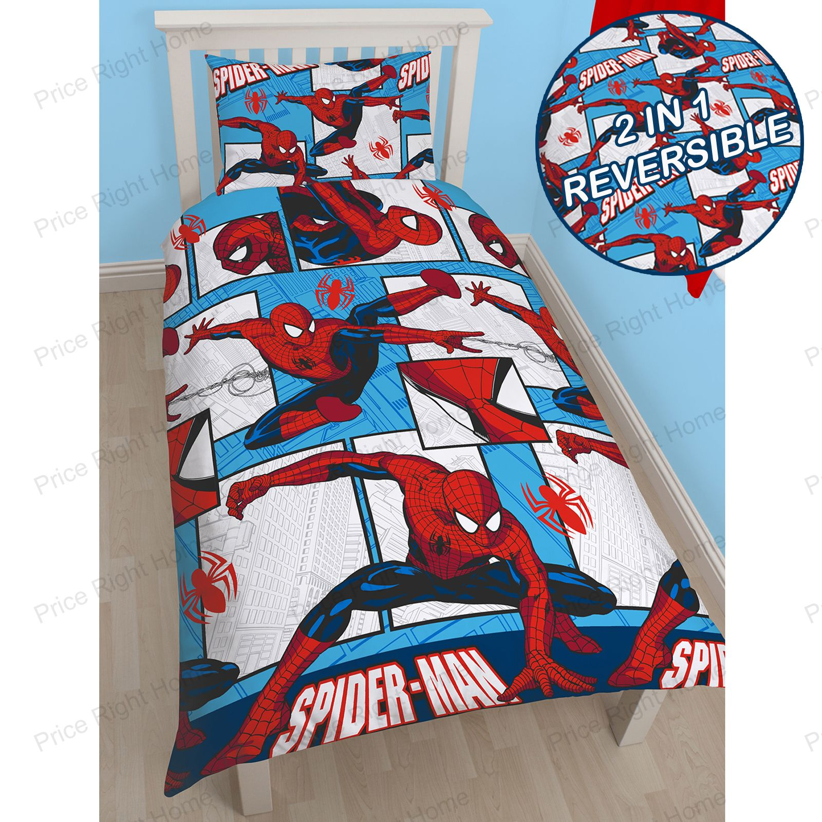 BOYS-CHARACTER-SINGLE-ROTARY-DUVET-COVERS-STAR-WARS-