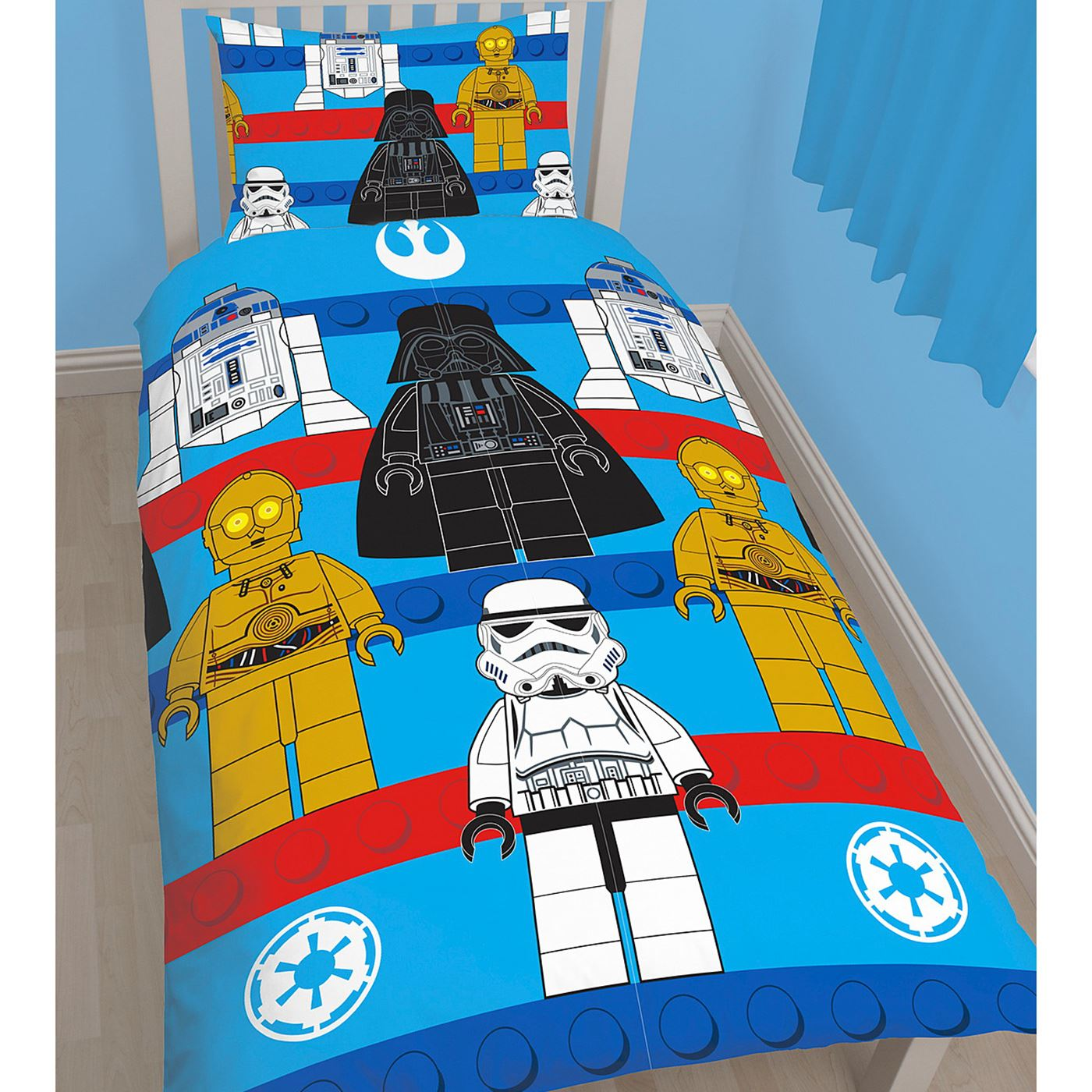 Garcon-Personnage-Simple-Rotary-Housse-Couette-Star-Wars-Avengers-Paw-Patrol