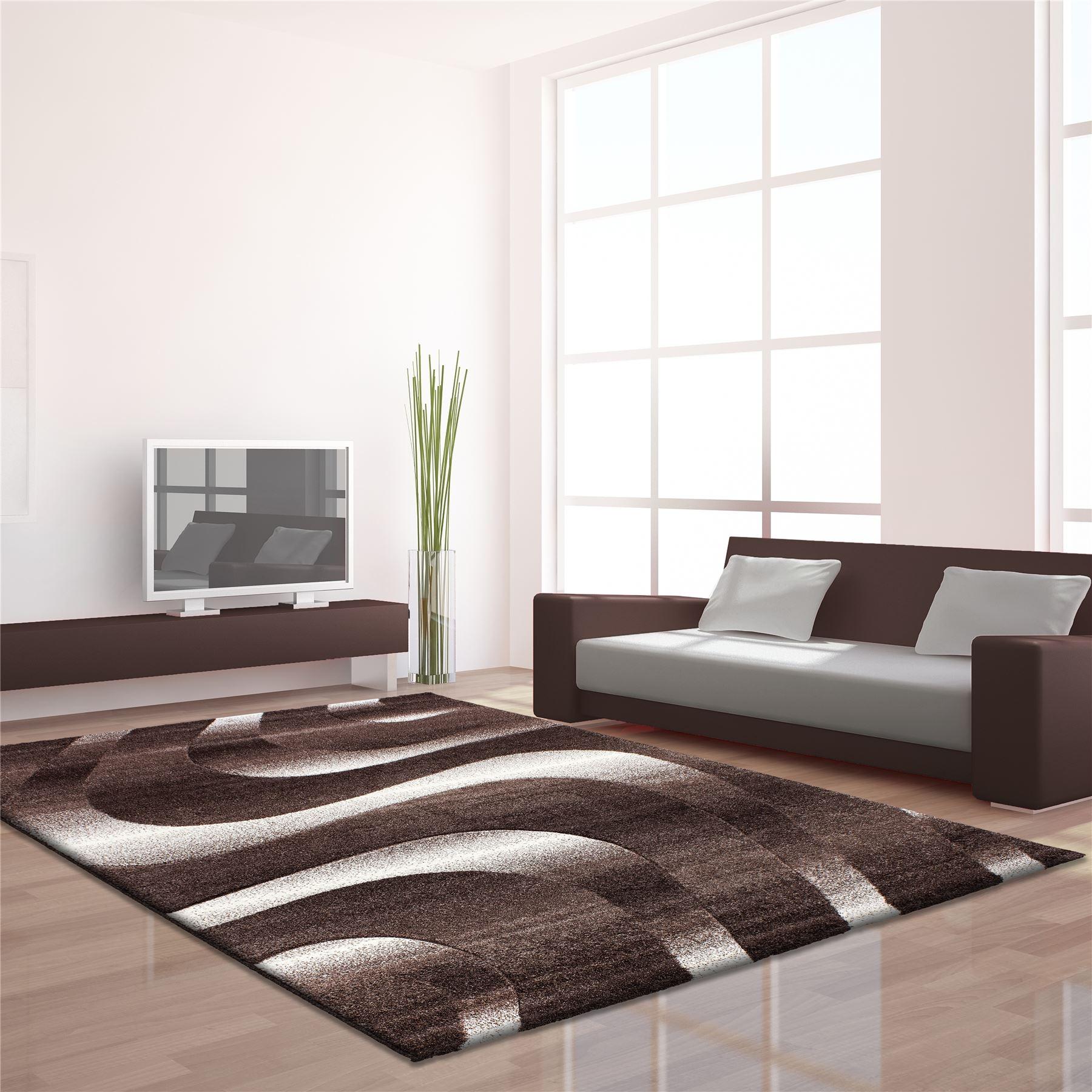 tappeti moderni basso 3d viola e grigio : Modern-Contemporanea-Nero-Grigio-Marrone-Viola-Vortici-Quadrate ...