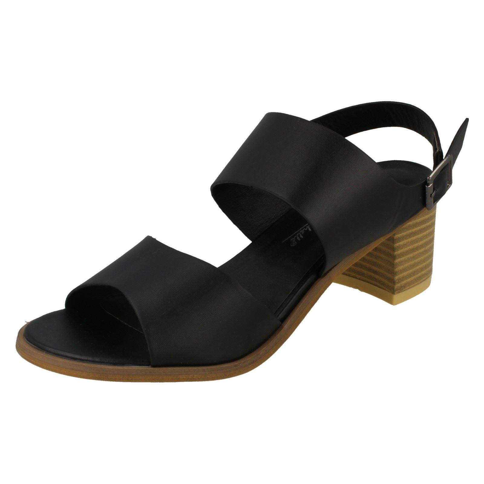 Anne Michelle l6r750 donna sandalo con cinturino alla Caviglia Nero 64A Kett