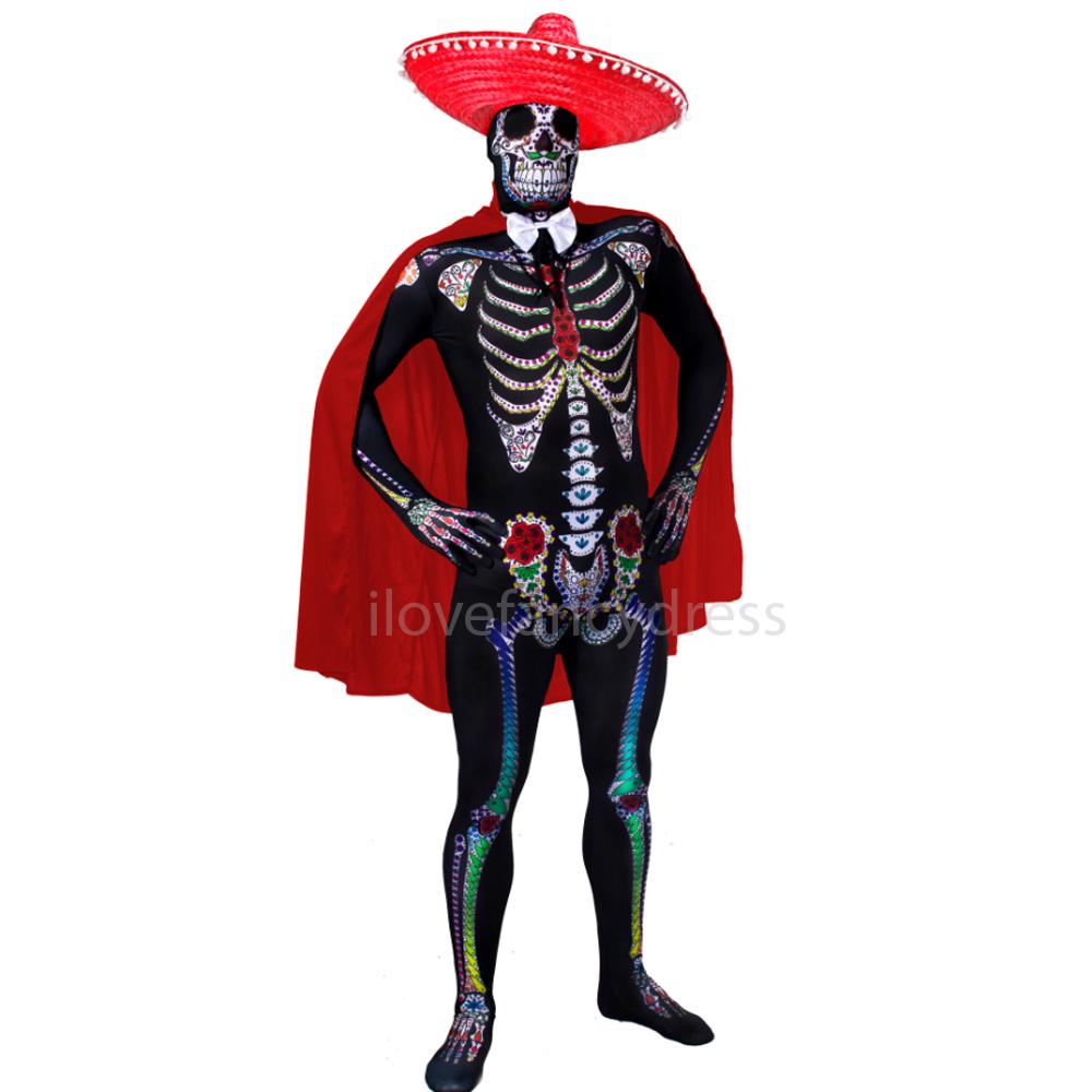 paar tag der toten kost m se or senorita skelett halloween. Black Bedroom Furniture Sets. Home Design Ideas