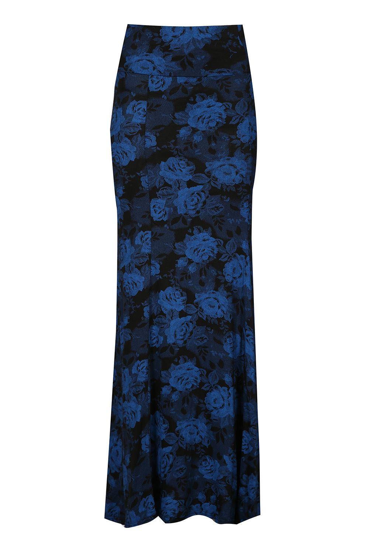 femmes jupe longue imprim taille haute long gypsy franki swing vas e ebay. Black Bedroom Furniture Sets. Home Design Ideas