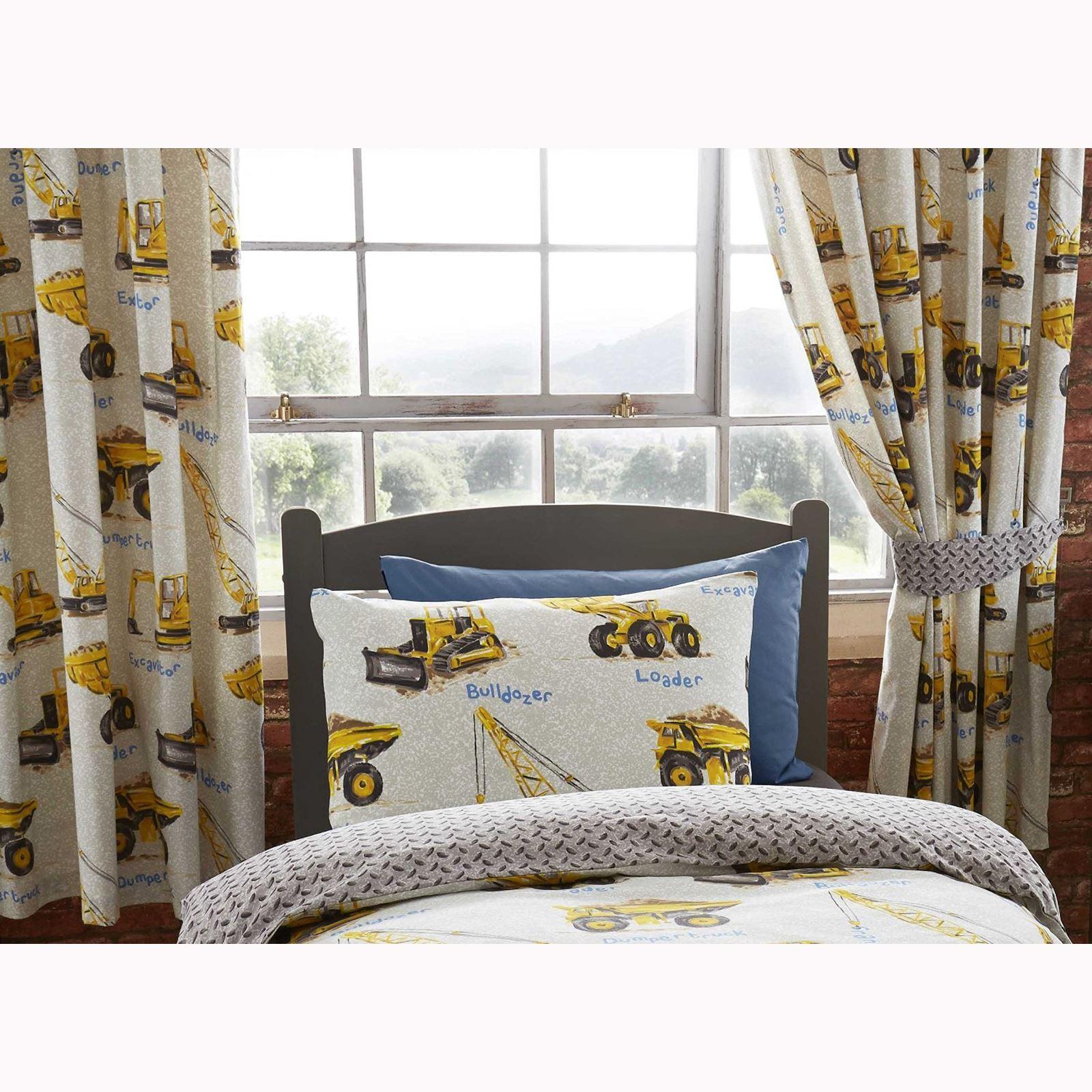 jungen schlafzimmer vorh nge 168cm x 183cm gr ber dinosaurier z ge armee ebay. Black Bedroom Furniture Sets. Home Design Ideas