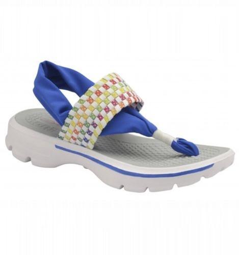Mujer Dolcis Reese Tira BLANCA PLANA Cómodo Sandalias Para Caminar Con Tira Reese a7c23a