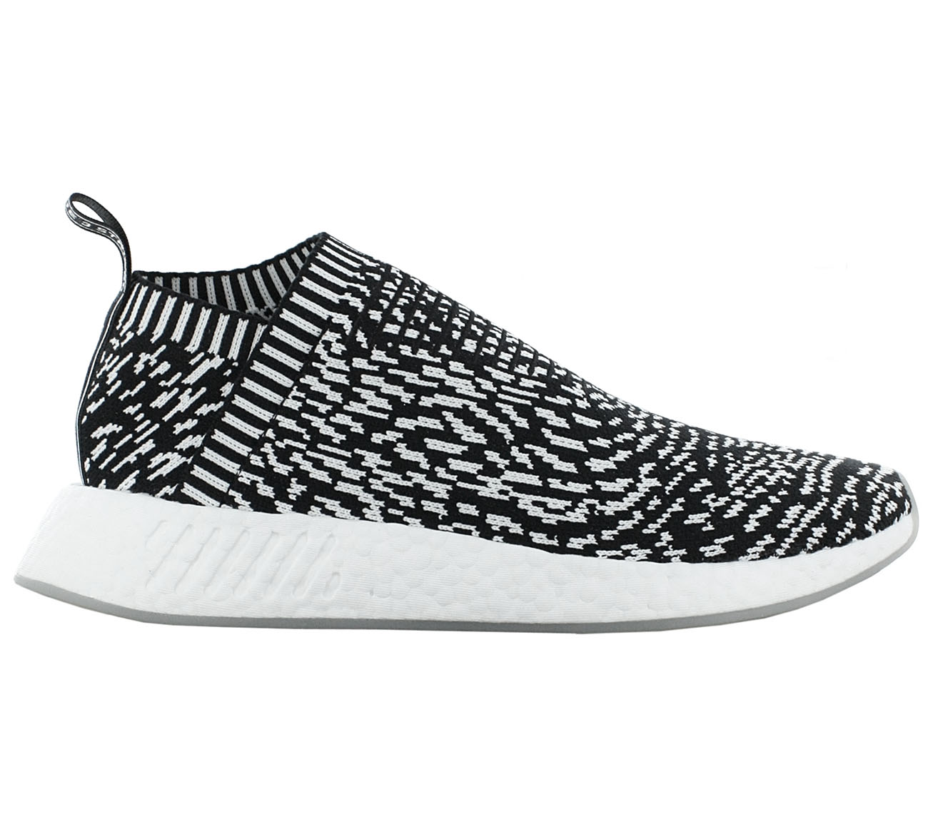best service 57e0b 53ff7 Adidas NMD CS2 PK Primeknit boost scarpe sneakers uomo Bianco Nero NUOVO  by3012 - tualu.org