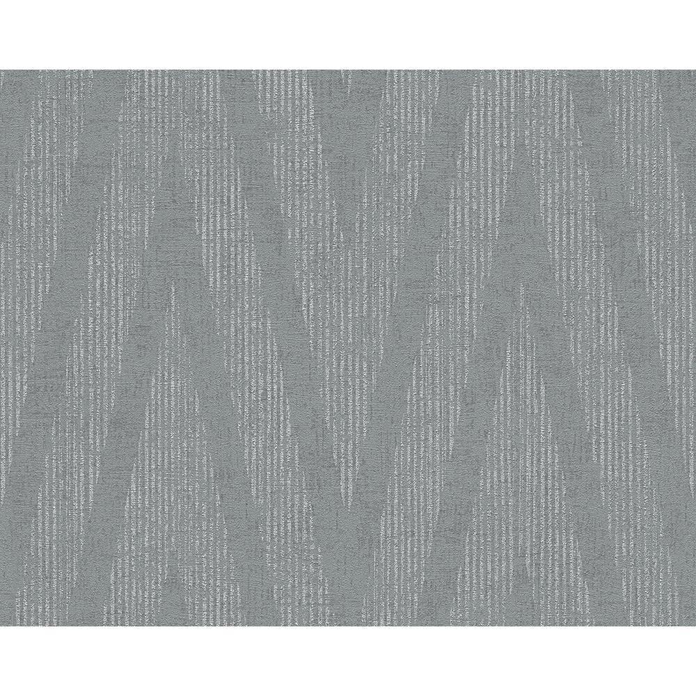 As-Creation-LISO-CON-TEXTURA-Patron-de-Papel-Tapiz-Moderno-metalico-rayas-Modelo