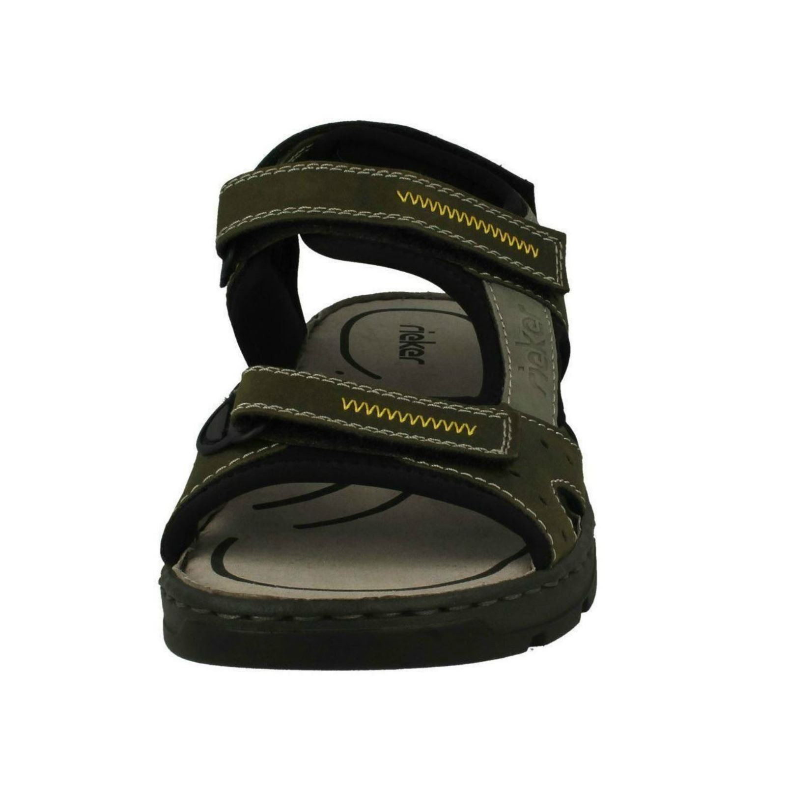 Mens-Rieker-Casual-Strapped-Sandals-26157 thumbnail 3