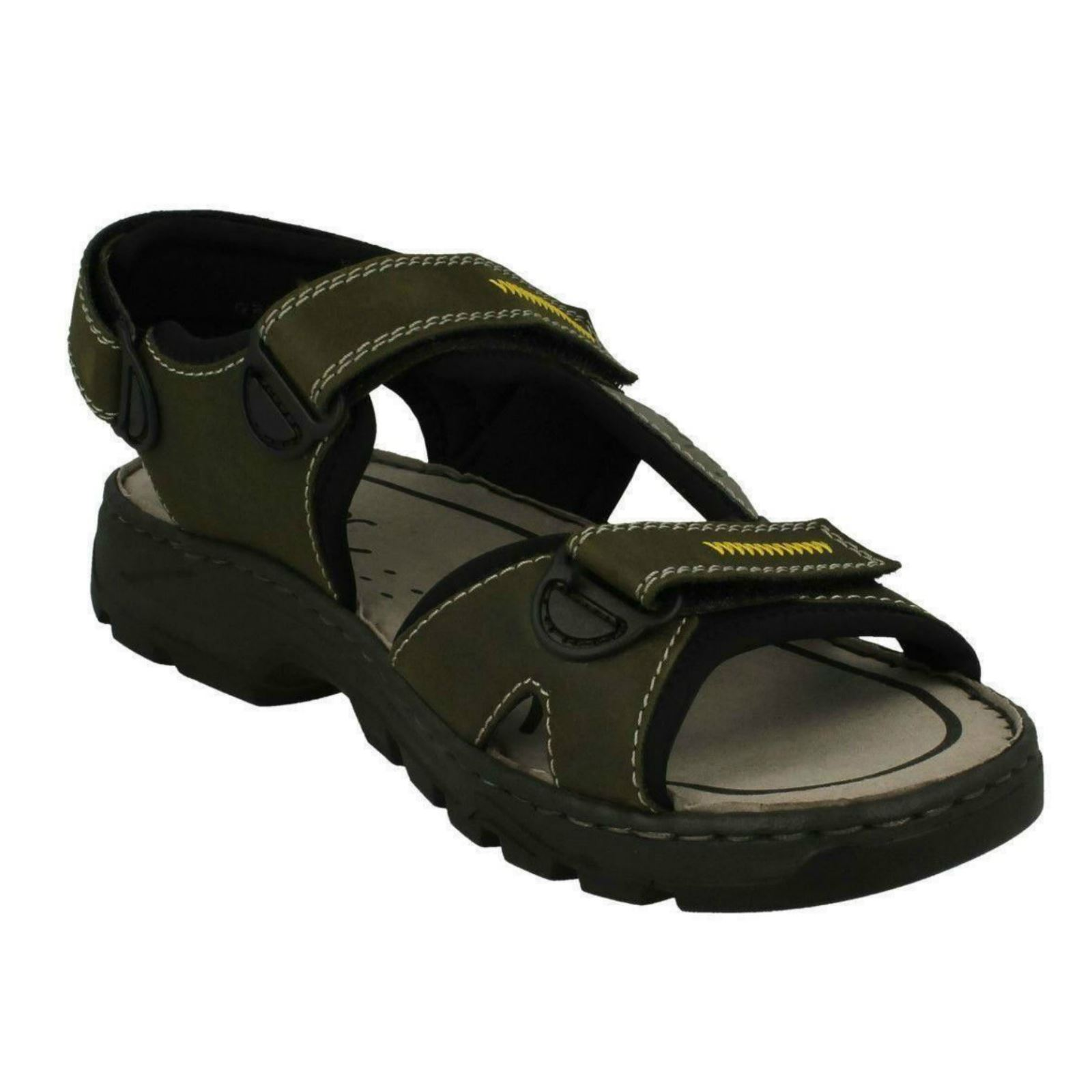 Mens-Rieker-Casual-Strapped-Sandals-26157 thumbnail 8