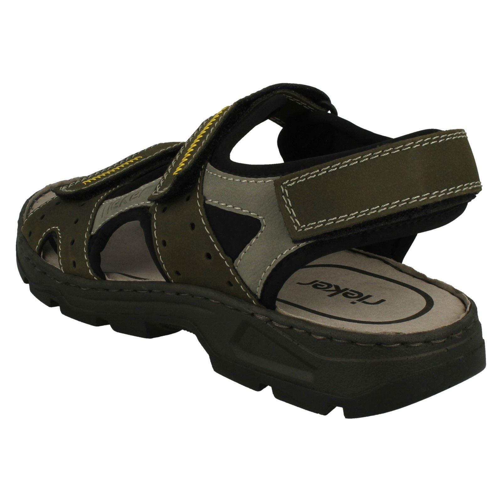 Mens-Rieker-Casual-Strapped-Sandals-26157 thumbnail 7