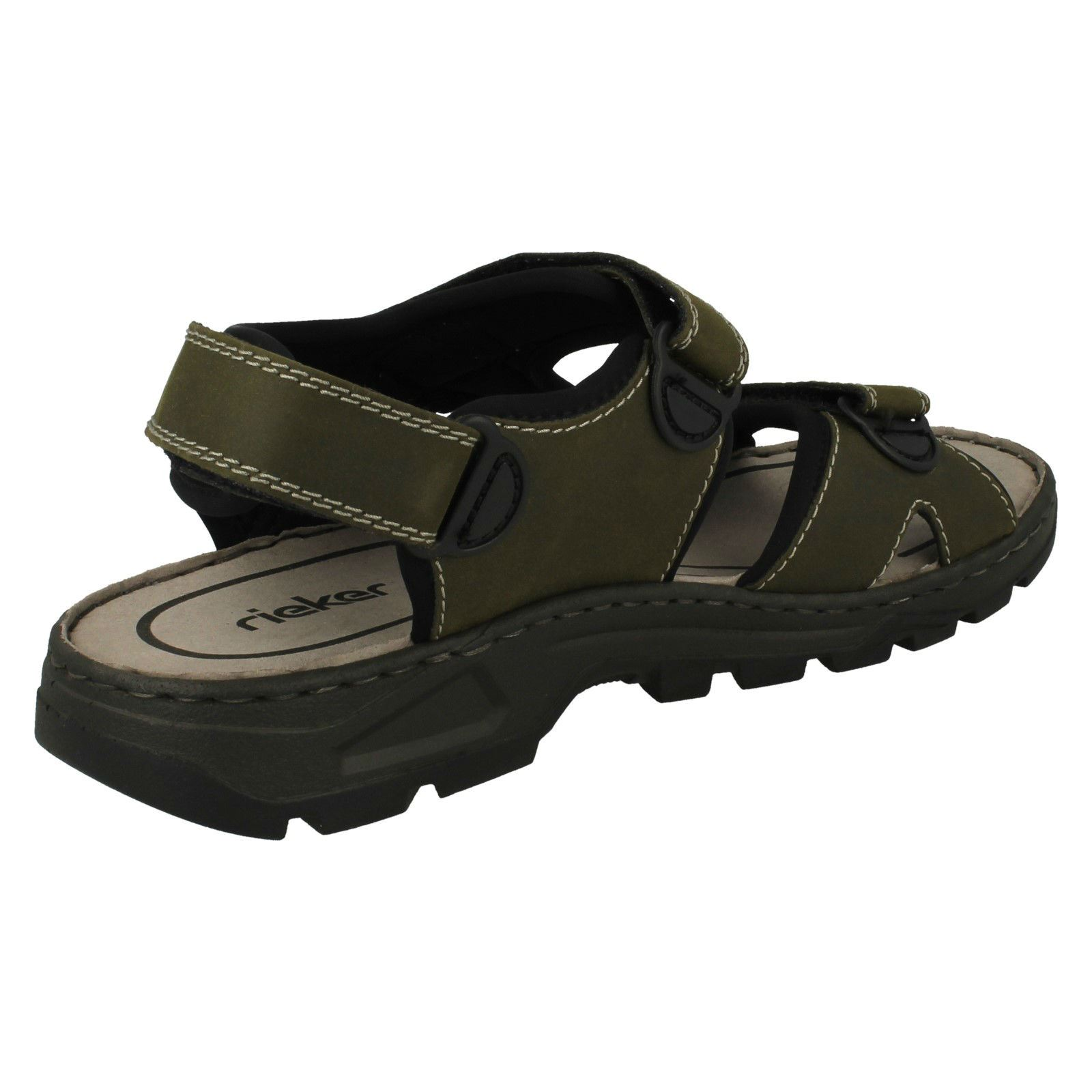 Mens-Rieker-Casual-Strapped-Sandals-26157 thumbnail 9