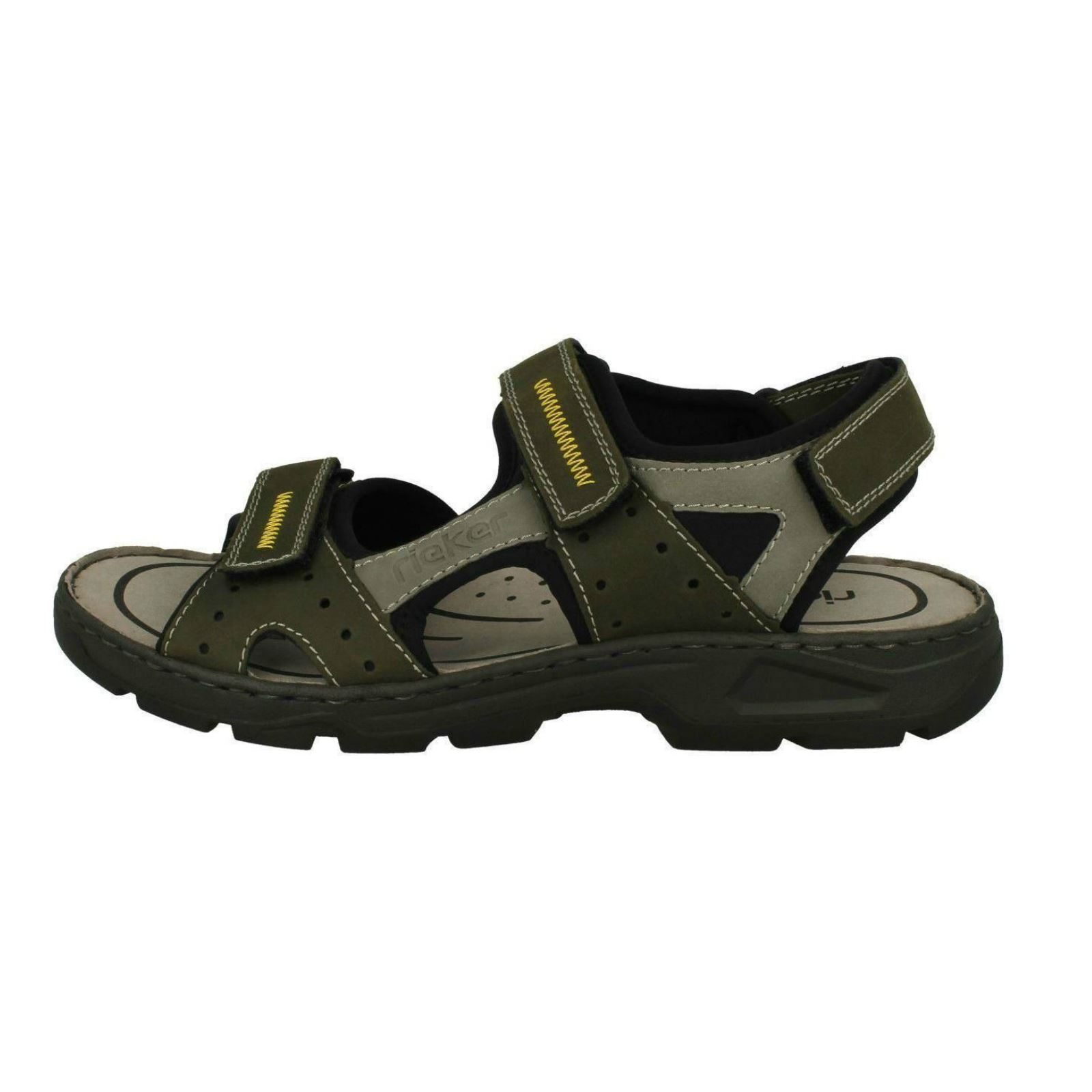 Mens-Rieker-Casual-Strapped-Sandals-26157 thumbnail 4