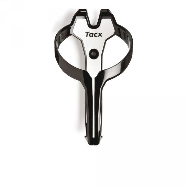 Tacx-Foxy-Sostenedor-de-bicicleta-botella-de-agua-muy-facil-Negro-Blanco