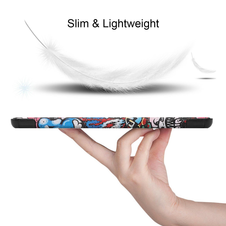 miniature 83 - Smart Cover pour Huawei Matepad T8 8.0 Pouces Étui de Protection Slim Coque Sac
