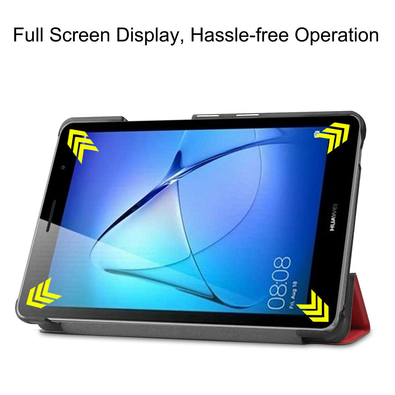 miniature 31 - Smart Cover pour Huawei Matepad T8 8.0 Pouces Étui de Protection Slim Coque Sac