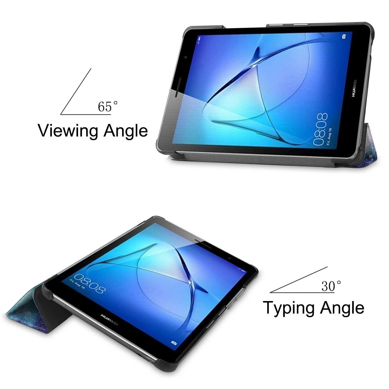 miniature 75 - Smart Cover pour Huawei Matepad T8 8.0 Pouces Étui de Protection Slim Coque Sac