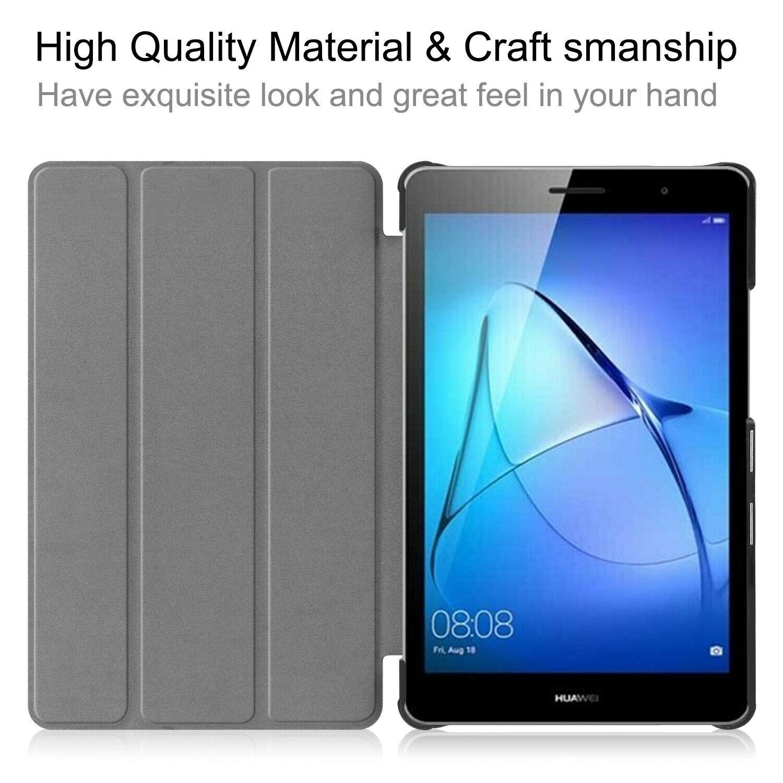 miniature 14 - Smart Cover pour Huawei Matepad T8 8.0 Pouces Étui de Protection Slim Coque Sac